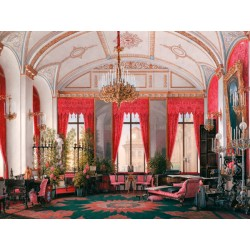 "Petrovich Hau""Winter Palace:Raspberry Study"", Luxury Art Picture for Impressive and Amazing Trend Decor"