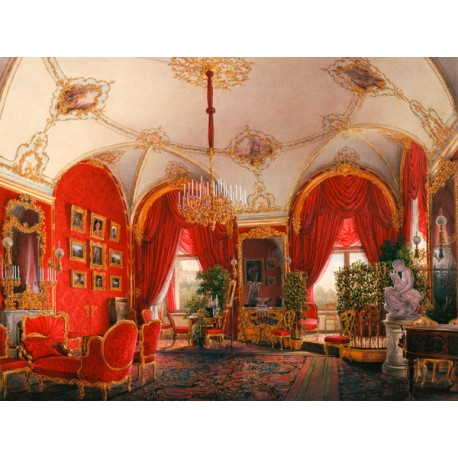 "Petrovich Hau""Winter Palace Apartment"",Quadro Pronto per Installazioni,Allestimenti e Home Design"