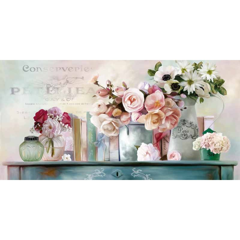 "Amazing Home Decor: Robinson""Paris Petit""-Amazing Flowers Ready To Hang"