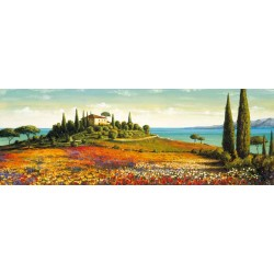 "LeBlanc""Afternoon Light""-Tuscan Marine Art Picture for Living or Bedroom"