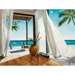 Jacob Reed, Sea Breeze 1-custom made marine/coastal stretched canvas high quality giclèe print