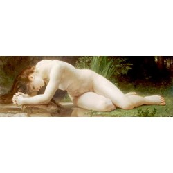 "Bougereau""Byblis""- Classical Masterpiece with mythological female figure for Living or Bedroom"
