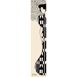 "Gustav Klimt""Woman and tree-Silhouette 2"".Original Author's Art Canvas or Poster for home decor design"