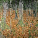 Gustav Klimt - the Birch Forest