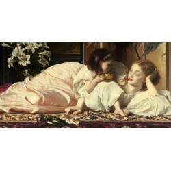 "Leighton""Mother and Child""- High Quality Art Picture for Home Decor with custom choices"