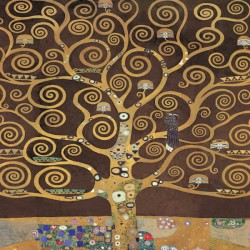 Gustav Klimt the tree of life