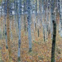 Gustav Klimt - Beech Grove I Stampa Fine Art su Canvas Misure Multiple