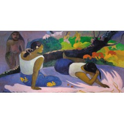 "Gaugin""Tahitian Reclined Women"" HQ Original print on heavy cotton canvas or artistic paper for Home Decor"