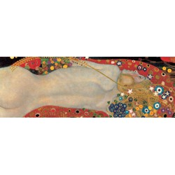 "Gustav Klimt ""Sea Serpent 1 (detail)"" - Classic Art Picture for Home Decor Design"