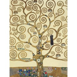 "Klimt ""The Tree of Life (detail)-Stampa Fine Art con Misure multiple e Supporti diversi per Soggiorno o Camera"