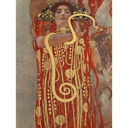 "Gustav Klimt ""Medicine (detail)"" -HQ Fine Art print on Canvas or Artistic Paper.Ready To Hang product also available"