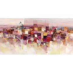 """Luigi Florio """"Sognando Roma"""" high quality print or ready to hang, size & stuff by choice"""