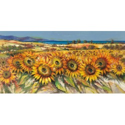 Florio Luigi - field of Sunflowers
