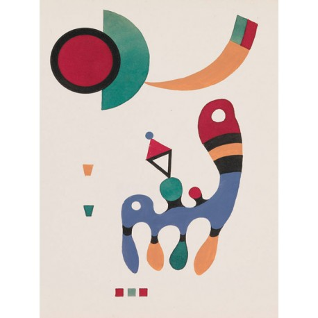 Wassily Kandinsky- 11 tableux et 7 poemes