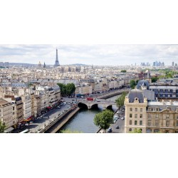 View of Paris by Vadim Ratsensky stampa fotografica