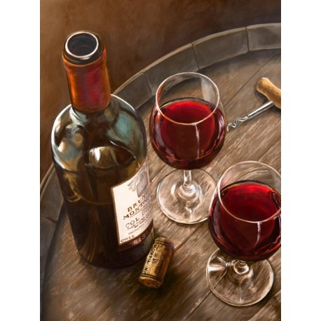 Italian Wine By Ferrari high quality print on paper or canvas