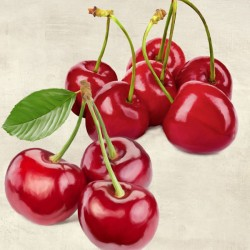 Cherries - Remo Barbieri on high quality print