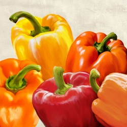 Peppers - Remo Barbieri high quality print