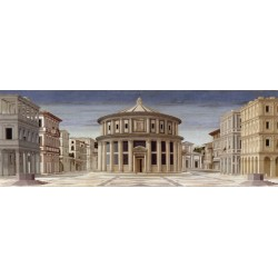 La Città Ideale - Piero della Francesca. On Demand Art Picture for Home Decor Design Use