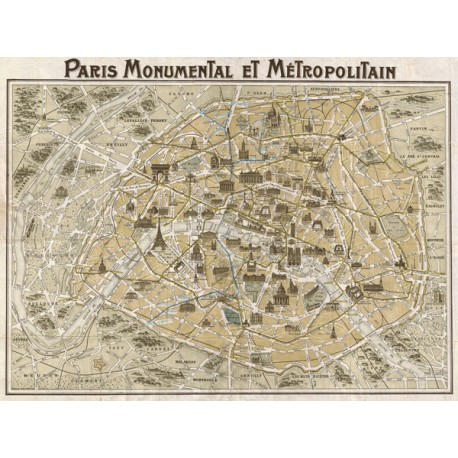 """Paris Monumental"","