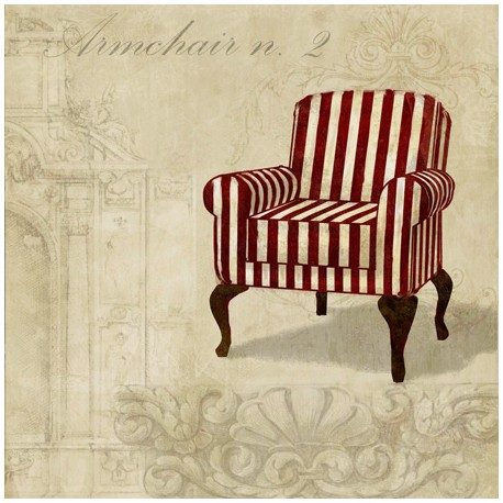 Remi Dellal - Armchair 2,Design Picture with Shabby Chic Textures for Luxury Home Decor