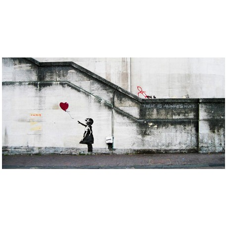 Bansky(attributed to)-South Bank,London.Art Design Picture for Home Decor