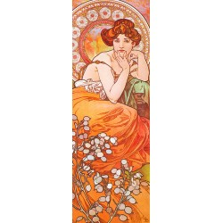 Mucha-Tobaz.Classical Author's Fine Art Picture for Home Decor.Wide set of customizations, available