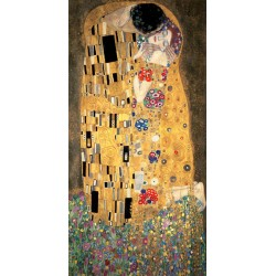 Gustav Klimt - the Kiss vertical edition