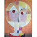 "Klee ""Senecio"", Vertical Ready-to-hang picture in 100% cotton Canvas or Large variety of size and material."