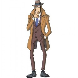 Zenigata from Lupin The Third Series - Original Shaped Picture for Home Decoration