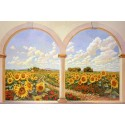 Del Missier, Design Picture with View from Porch for Home Decor