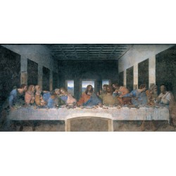 "Leonardo Da Vinci ""Ultima cena - print on Canvas"