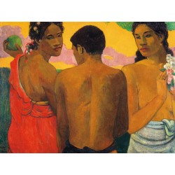 "Gauguin Paul ""Three Tahitians """