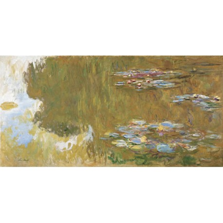 "C. Monet-Water Lily Pond.High Quality Art Picture for Home Decor with ""On Demand"" Standards"