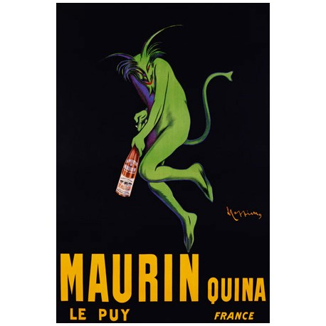 Maurin Quina, ca. 1906 - Leonetto Cappiello. High quality Print on Canvas or Artistic Paper
