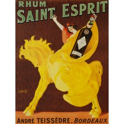 Rhum Saint Esprit - Spring. . High quality Print on Canvas or Artistic Paper