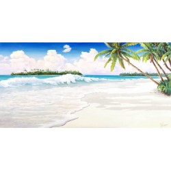 """Adriano Galasso """"Onda Tropicale""""Awesome On Demand Author's picture on the beach"""