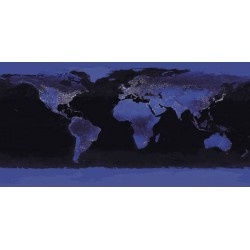 NASA-Earth at Night.Astonishing World view in A Unique Extended Format
