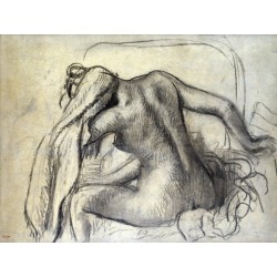Edgar Degas,La Toilette . Made To Measure Picture from Impressionist Genius for Home Decor Use