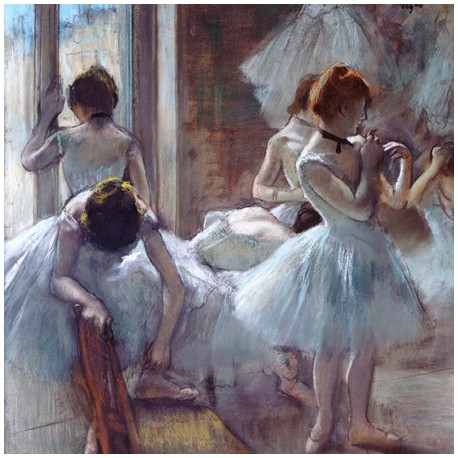 Edgar Degas,Dancers.High Quality Fine Art Picture Print.Cotton Canvas,Artistic Paper or Ready to Hang