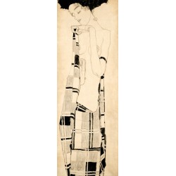 Egon Schiele,Standing Girl.Castom Made Classic Picture for Home Decor