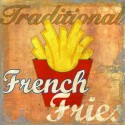 French Fries,Skip Teller.Amazing Custom Picture for Kitchens, Breakfast or Dining Room