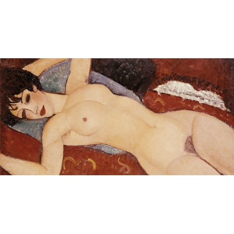 Amedeo Modigliani,Reclining Nude. Made to measure Classic Art picture for Home Decor usings