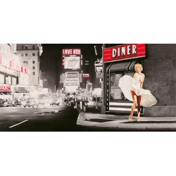 Love Her,Pierre Benson-High Quality Artistic Print with Monroe-inspired Image from the classic Movie