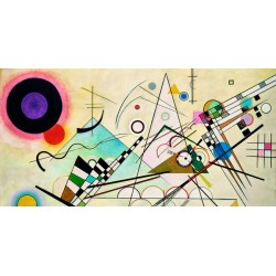 Wassily Kandinsky - Composition VIII high quality print on paper or canvas