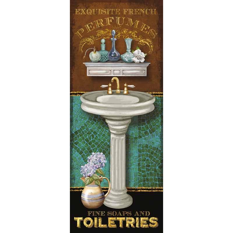 "Knutsen""Francais de Bain 2"".quadri modeni 2 pezzi o singoli x toilets e bagni.Stampeequadri"